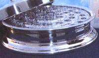 Vassoio Santa Cena - Vassoio cena del Signore  Alluminio (effetto colore argentato) (Tray for glasses)