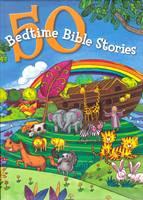 50 Bedtime Bible Stories (Copertina Rigida Imbottita)