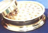 Vassoio Santa Cena - Vassoio cena del Signore  Alluminio colore dorato