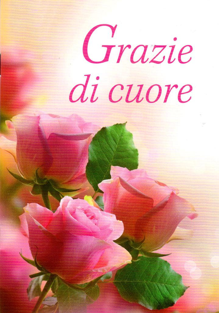 Grazie di cuore - Libretto di auguri (05D 168)