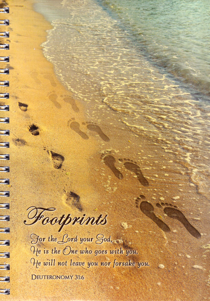 """Quaderno """"Footprints"""""""