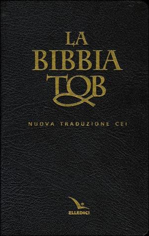 La Bibbia da Studio TOB in pelle con cofanetto - Nuova Traduzione CEI