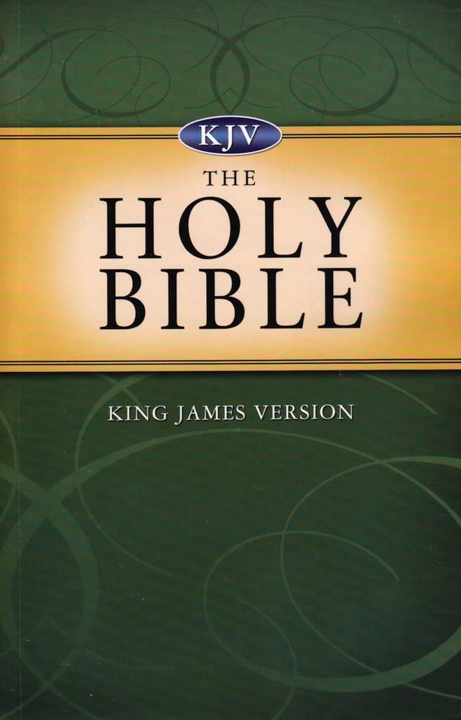 KJV Holy Bible Paperback Green