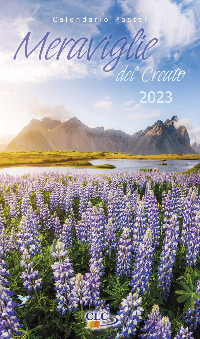 """Calendario Poster """"Meraviglie del Creato"""" 2021"""