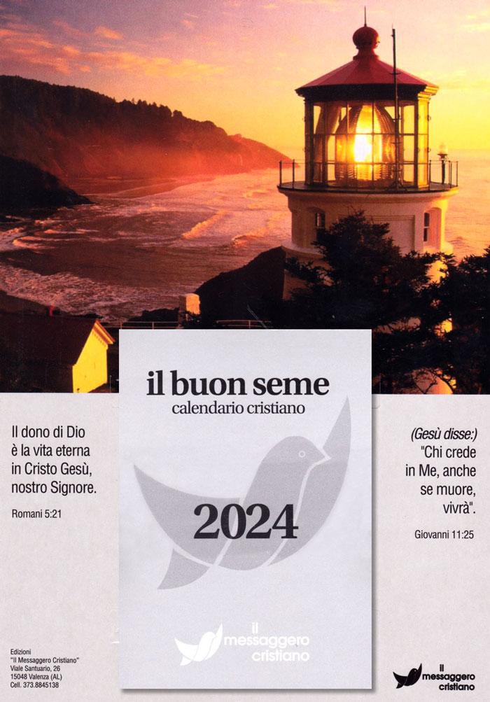 Calendario biblico Il buon seme - edizione 2021