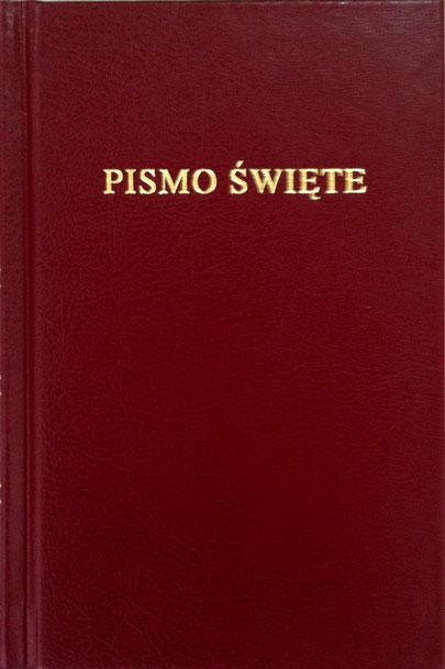 Bibbia in Polacco Tascabile Rigida