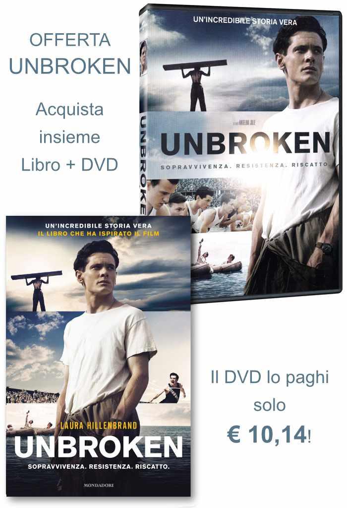 "Offerta ""Unbroken"" DVD+Libro"