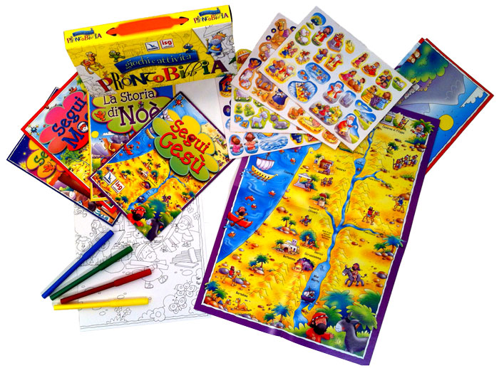 Pronto Bibbia - Valigetta con giochi e attività