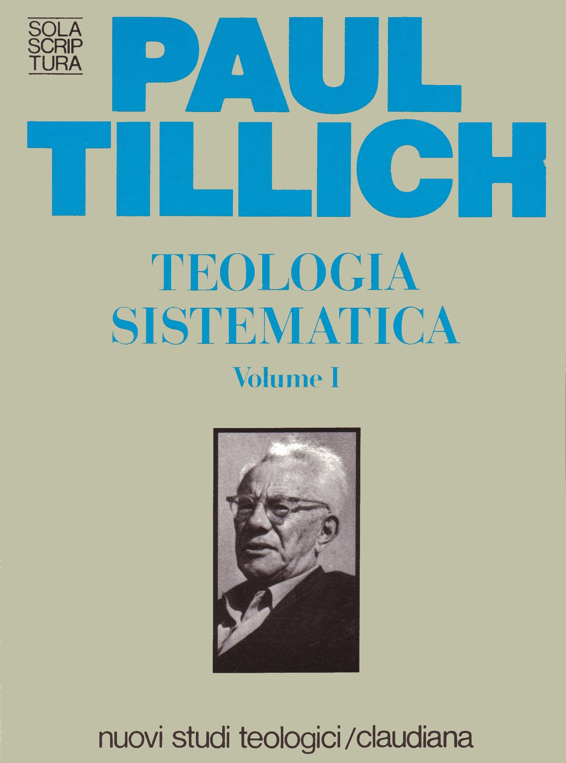 Teologia sistematica Volume I