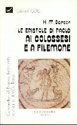 Le epistole di Paolo ai Colossesi e a Filemone