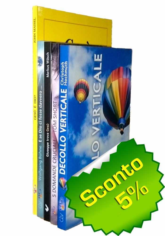 Offerta Evangelizzazione - 5 Libri al 5% di sconto