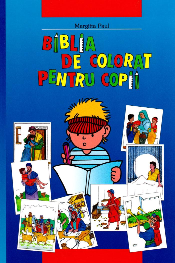 Biblia de colorat pentru copii - Bibbia per bambini da colorare Rumeno