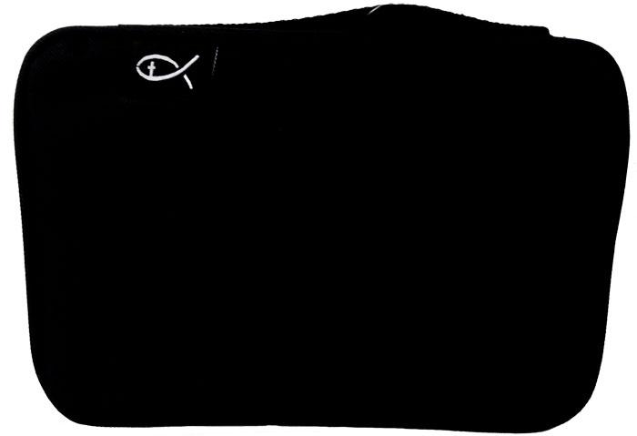 Copribibbia in tessuto colore nero formato Medio