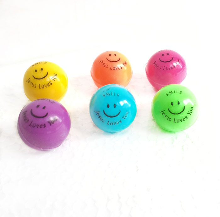 Pallina vari colori Jesus Loves You