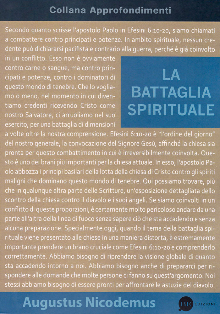 La battaglia spirituale
