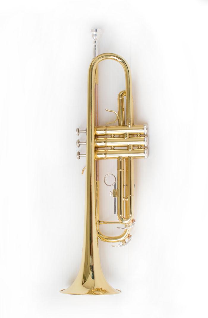 Tromba Bb (Sib) laccata