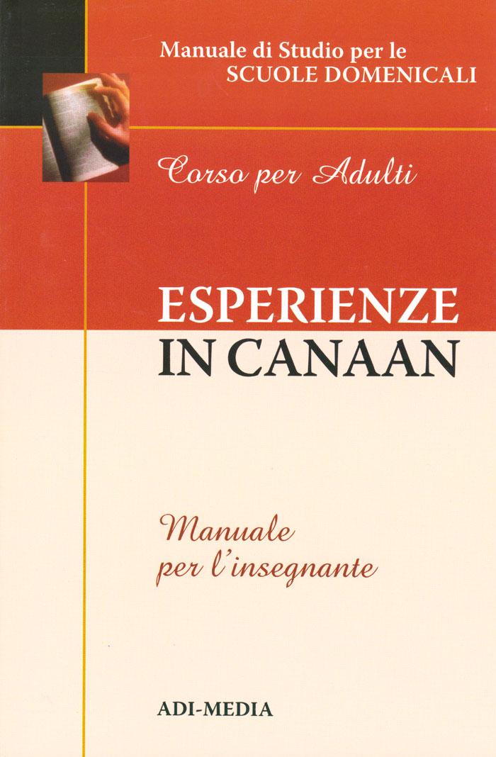 Esperienze in Canaan - Manuale per l'insegnante