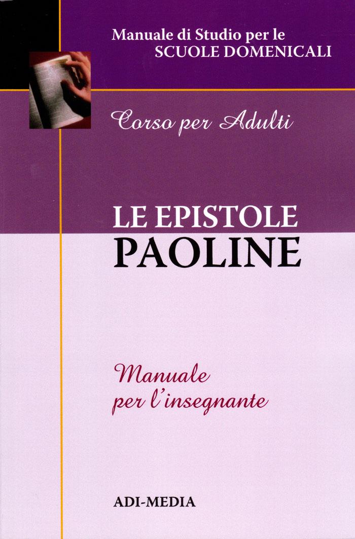 Le epistole paoline - Manuale per l'insegnante