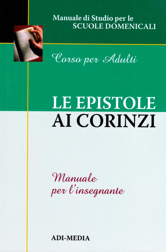 Le epistole ai Corinzi - Manuale per l'insegnante