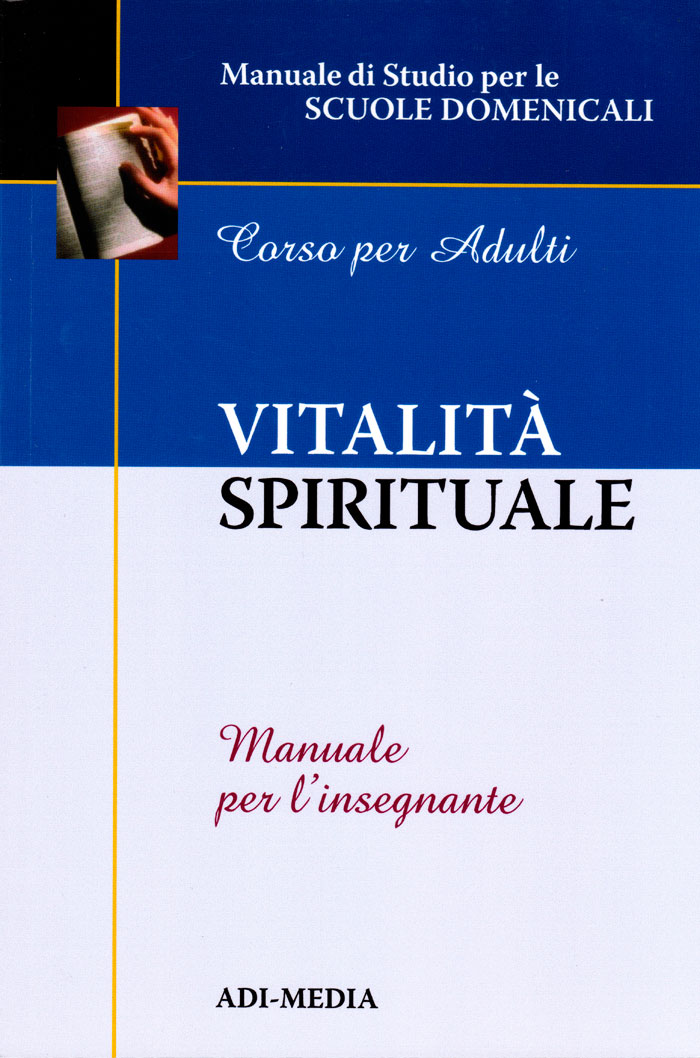 Vitalità spirituale - Manuale per l'insegnante