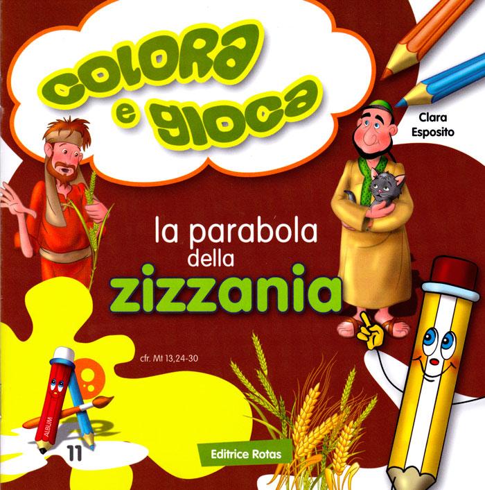 La parabola della Zizzania - Libretto da colorare