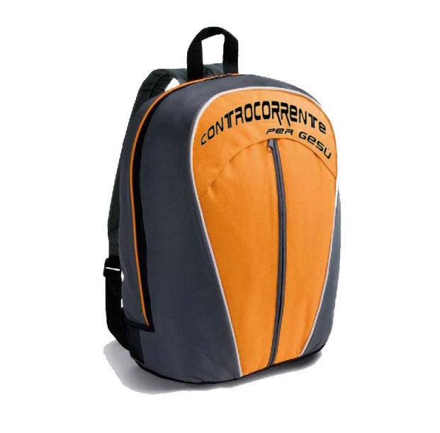 Zaino Controcorrente Arancione