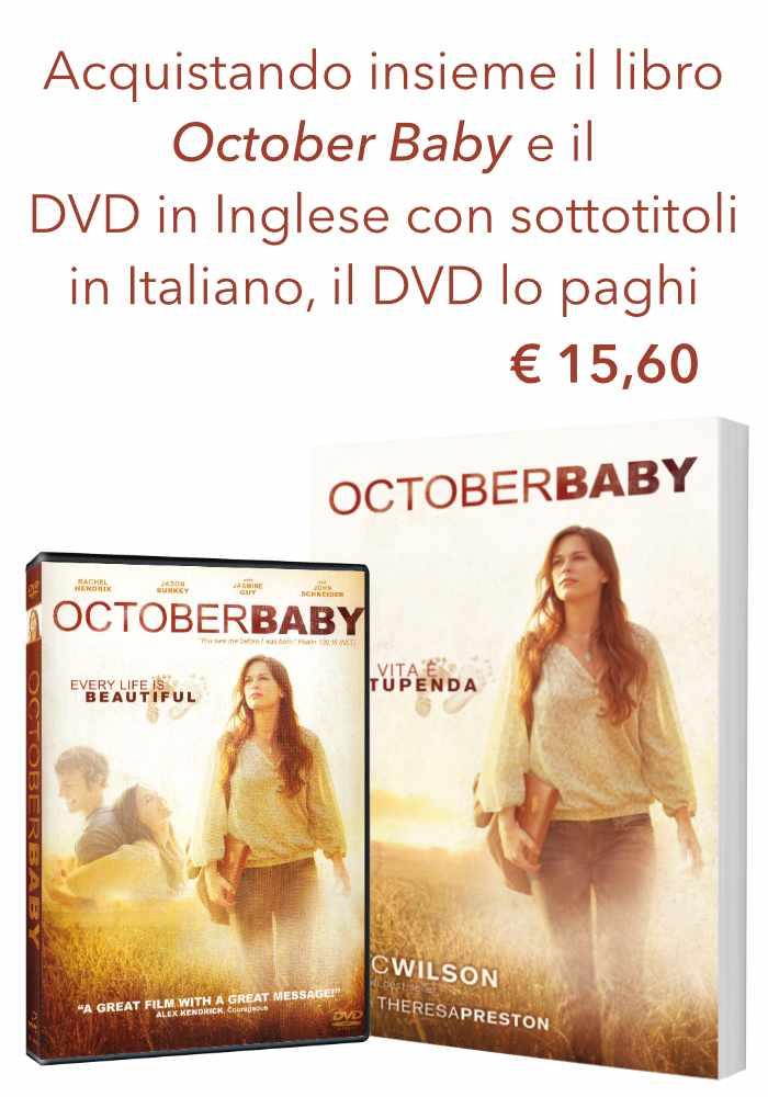 "Offerta ""October Baby"" DVD+Libro"