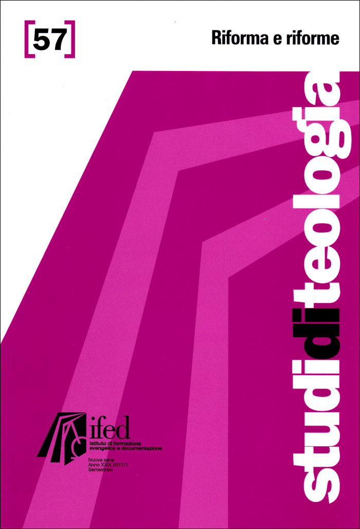 Riforma e riforme (Studi di teologia n°57)