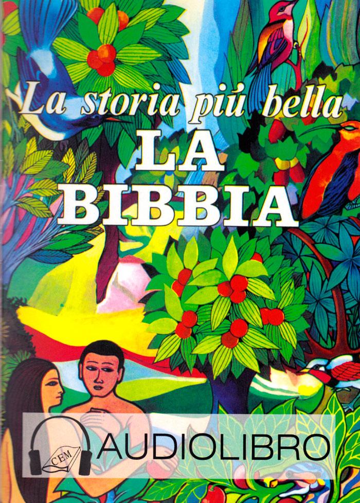 La storia più bella: la Bibbia Audiolibro su CD