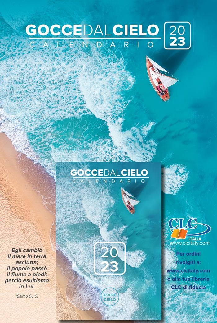 """Calendario """"Gocce dal cielo"""" 2021"""