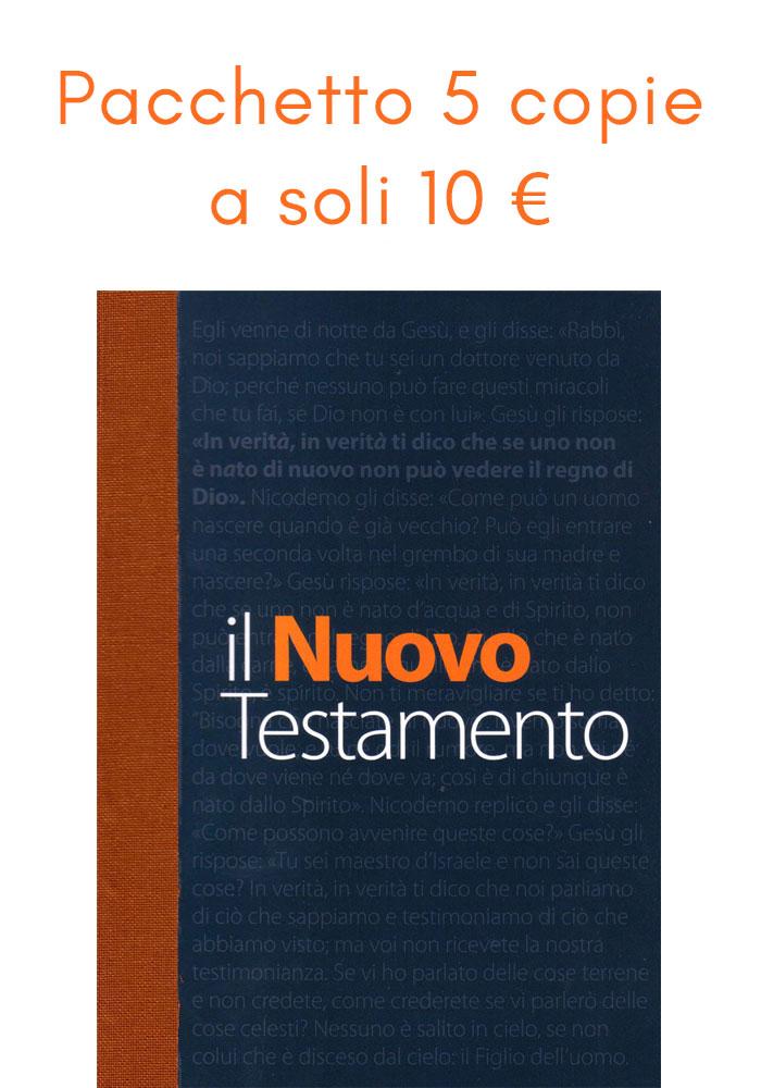 Il Nuovo Testamento NR06 - Pacchetto 5 copie a soli 10 €