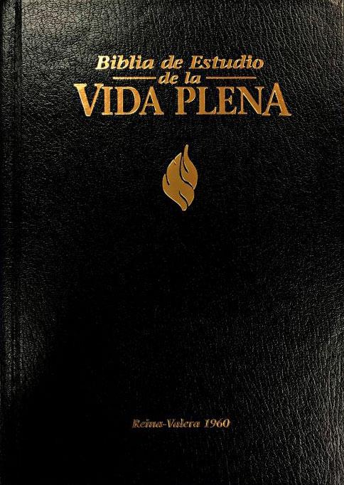 RVR60 Bíblia de Estudio Vida Plena