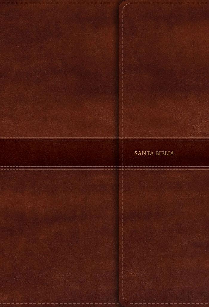 Santa Biblia RVR60 Letra gigante con Referencias - Marrón