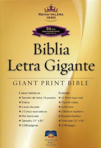 Santa Biblia RVR60 Letra Gigante