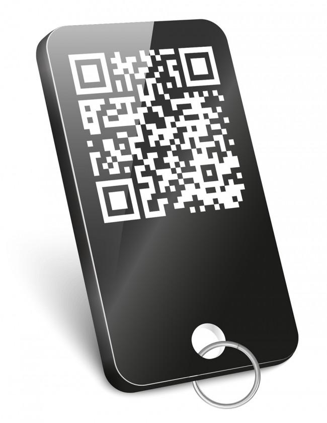 Portachiavi con  Qr-code Digital Bible App