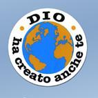 """A201 - Adesivo """"Dio ha creato anche te"""""""