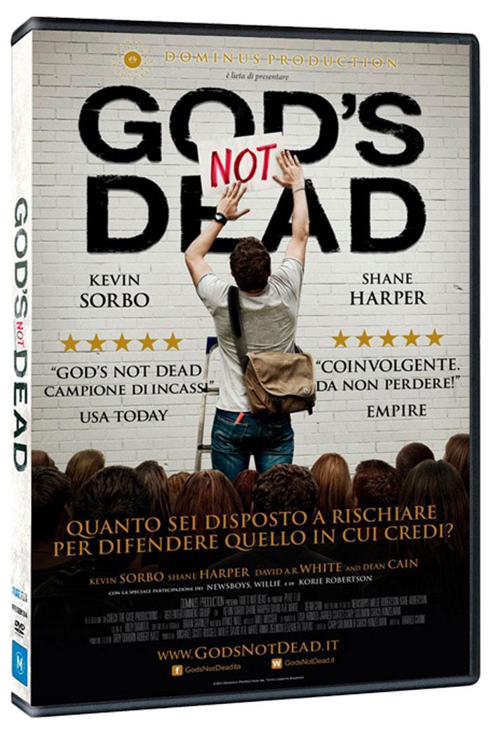 """Dio non è morto """"God's not dead"""" DVD in italiano"""