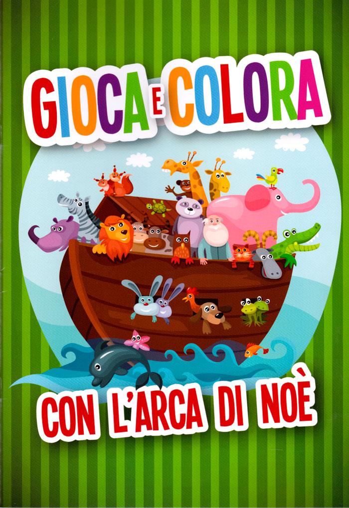 Gioca e colora con l'arca di Noè