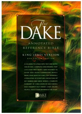 KJV The Dake annotated reference Bible