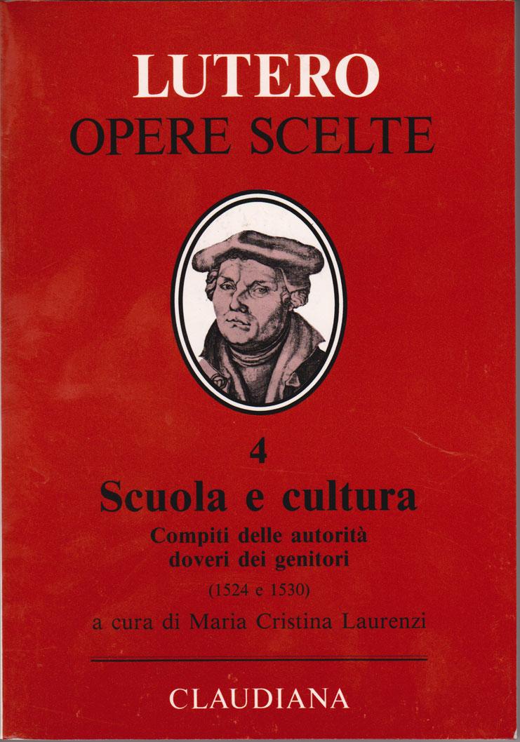 Scuola e cultura - Compiti delle autorità - doveri dei genitori (1524 e 1530) - A cura di Maria Cristina Laurenzi