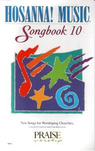 Hosanna Praise Songbook Vol 10