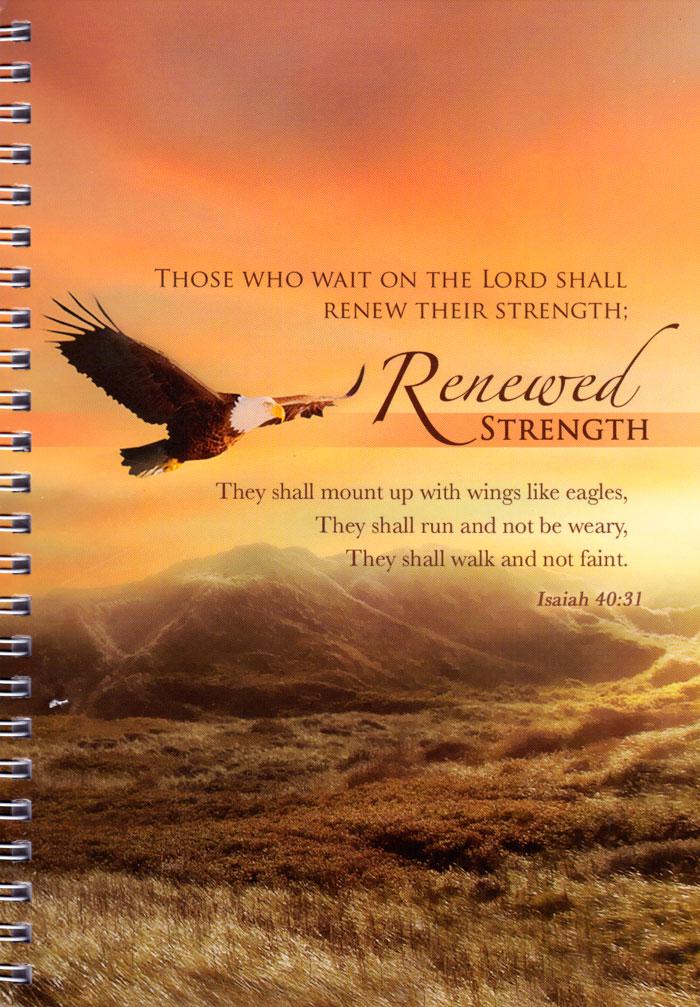 """Quaderno """"Eagle"""" - Isaiah 40:31"""