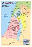 La Palestina ai tempi di Gesù - Carta geografica