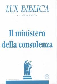 Il ministero della consulenza Lux Biblica