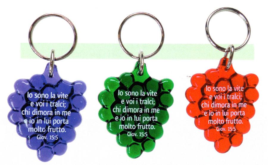 A1343 - Portachiavi Grappolo d'uva