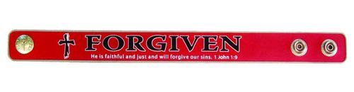 """Bracciale Gomma """"Forgiven"""""""