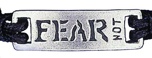 """Braccialetto regolabile """"Fear not"""""""