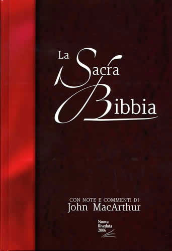 Bibbia da Studio MacArthur NR06 - 35419 (SG35419)