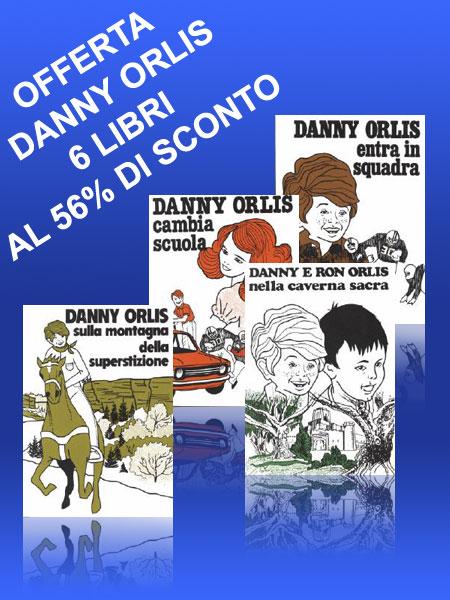 6 Libri della serie Danny Orlis per ragazzi (8 - 13 anni)