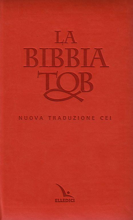 La Bibbia da Studio TOB - Nuova traduzione CEI Similpelle
